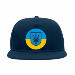 Снепбек Герб України на прапорі