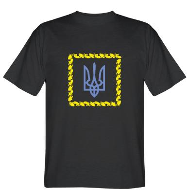 Футболка Герб України у квадраті