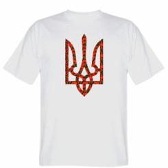 Футболка Герб України з маками