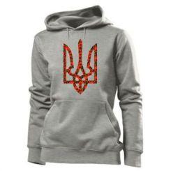 Купити Толстовка жіноча Герб України з маками
