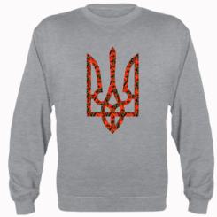Купити Реглан Герб України з маками