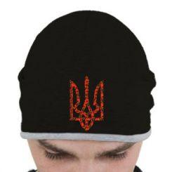 Шапка Герб України з маками