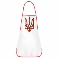 Купити Фартух Герб України з маками