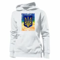 Толстовка жіноча Герб України колір