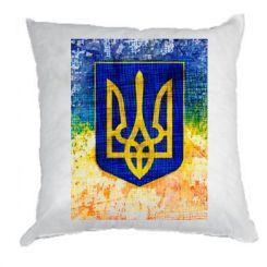 Подушка Герб України колір