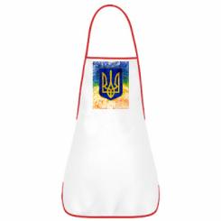 Фартух Герб України колір