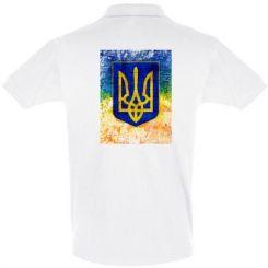 Футболка Поло Герб України колір
