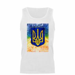 Майка чоловіча Герб України колір