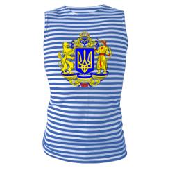 Купити Майка-тільняшка Герб України повнокольоровий