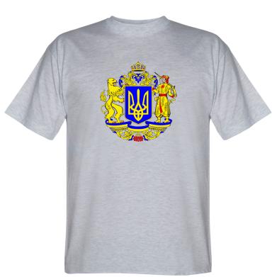 Футболка Герб України повнокольоровий