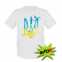 Дитяча футболка Герб з птахами