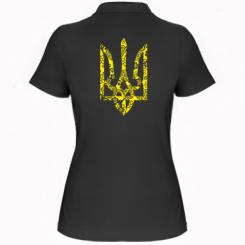 Купити Жіноча футболка поло Герб з візерунками