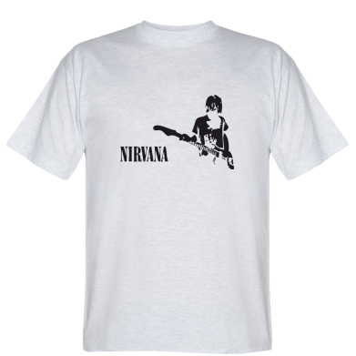 Футболка Гітарист Nirvana