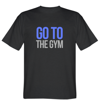 Футболка GO TO THE GYM