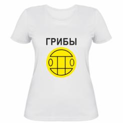 Жіноча футболка Гриби