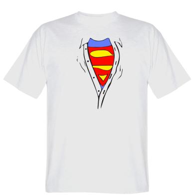 Футболка Груди Superman