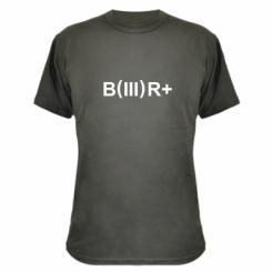 Камуфляжна футболка Група крові (3) В +