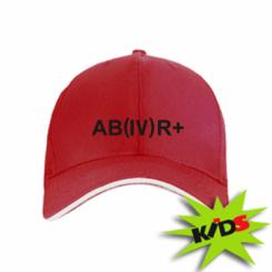 Дитяча кепка Група крові (4) АВ +
