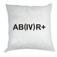 Подушка Група крові (4) АВ +