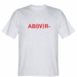 Футболка Група крові (4) АВ-