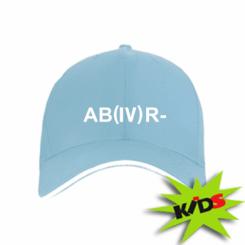 Дитяча кепка Група крові (4) АВ-