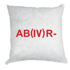 Подушка Група крові (4) АВ-