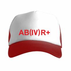 Кепка-тракер Група крові (4) АВ +