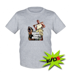Детская футболка GTA V Logo