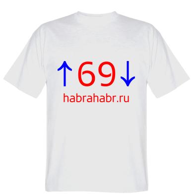 Футболка habrahabr.ru logo