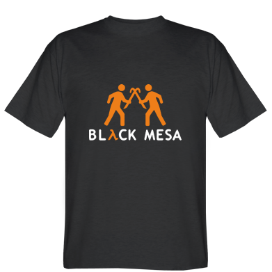 Футболка Half Life Black Mesa