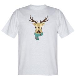 Футболка Hipster Christmas Deer
