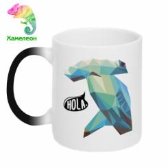 Кружка-хамелеон Hola