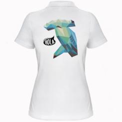 Жіноча футболка поло Hola