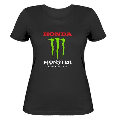 Купити Жіноча футболка Honda Monster Energy