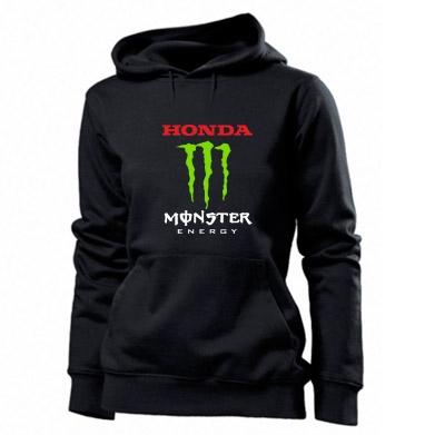 Купити Толстовка жіноча Honda Monster Energy