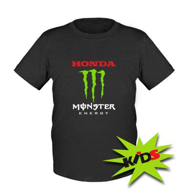 Купити Дитяча футболка Honda Monster Energy