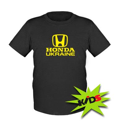 Купити Дитяча футболка Honda Ukraine