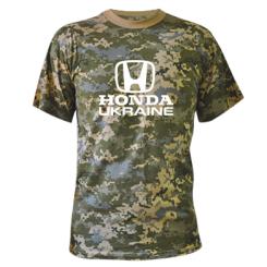 Купити Камуфляжна футболка Honda Ukraine