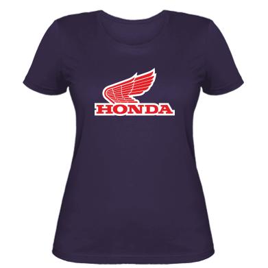 Купити Жіноча футболка Honda Vintage Logo