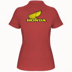 Купити Жіноча футболка поло Honda Vintage Logo