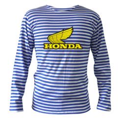 Тільняшка з довгим рукавом Honda Vintage Logo