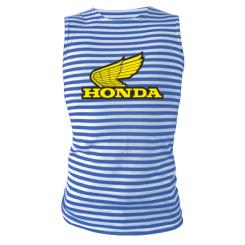Майка-тільняшка Honda Vintage Logo