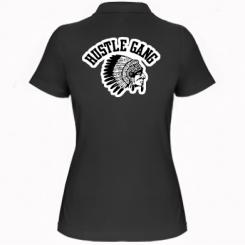 Купити Жіноча футболка поло Hustle Gung