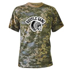 Купити Камуфляжна футболка Hustle Gung