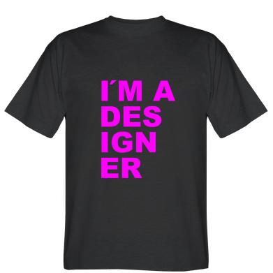 Футболка I AM A DESIGNER