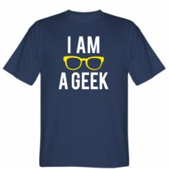 Футболка I am a Geek