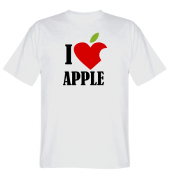 Футболка I love APPLE