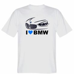 Футболка I love BMW 2