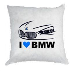 Подушка I love BMW 2