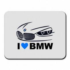 Коврик для мыши I love BMW 2